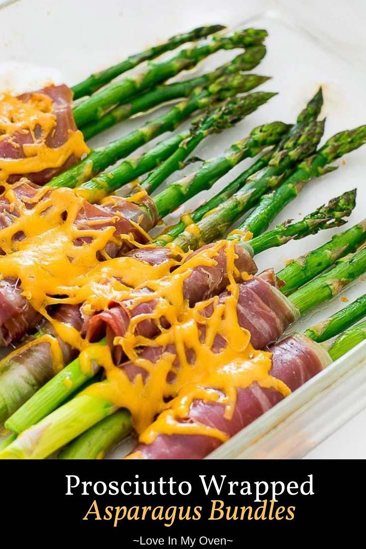 Prosciutto Wrapped Asparagus Bundles