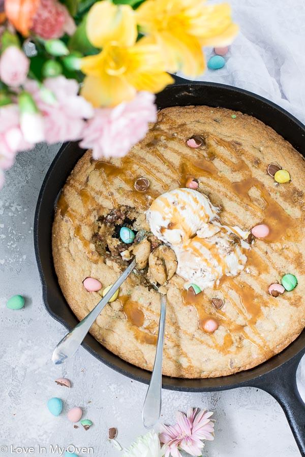 giant mini egg cookie recipe