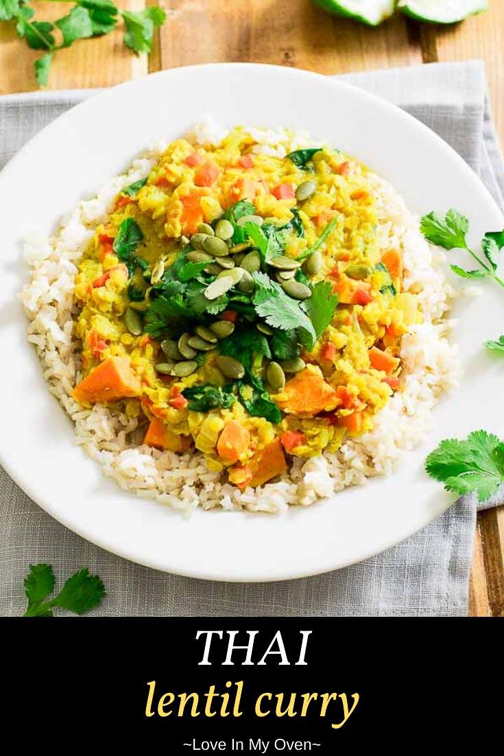 Thai Lentil Curry