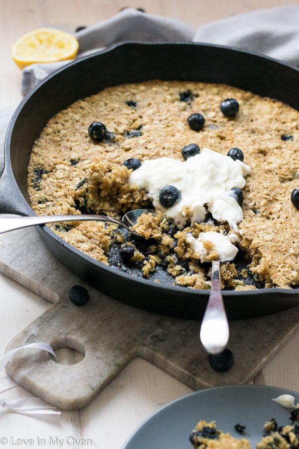 blueberry breakfast cookie