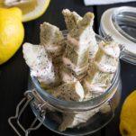 lemon poppy biscotti recipe
