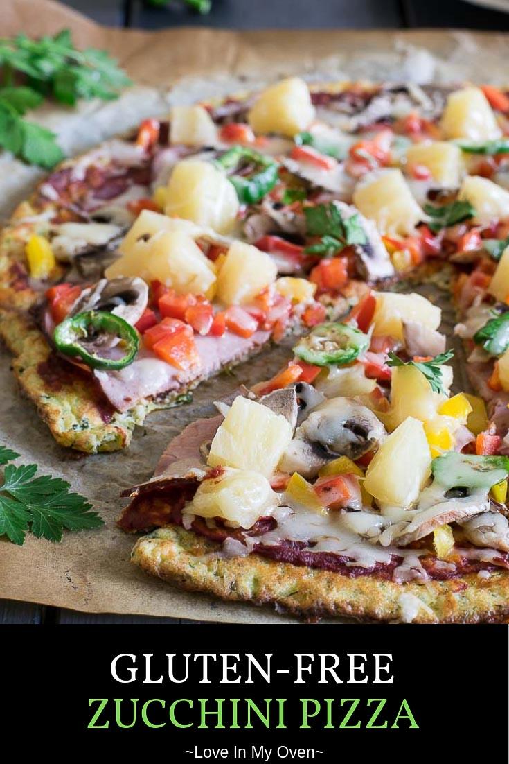 Gluten-Free Zucchini Pizza