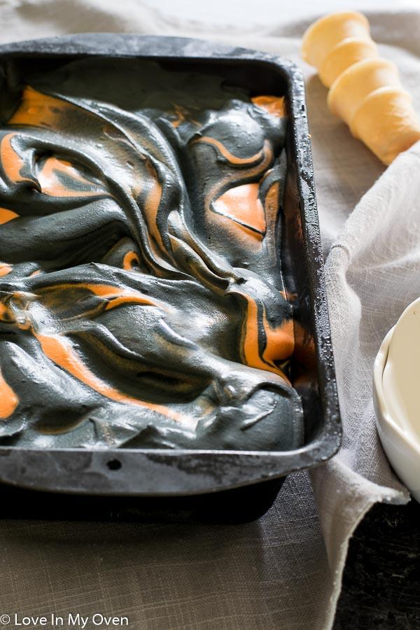 Tiger Tail No-Churn Ice Cream