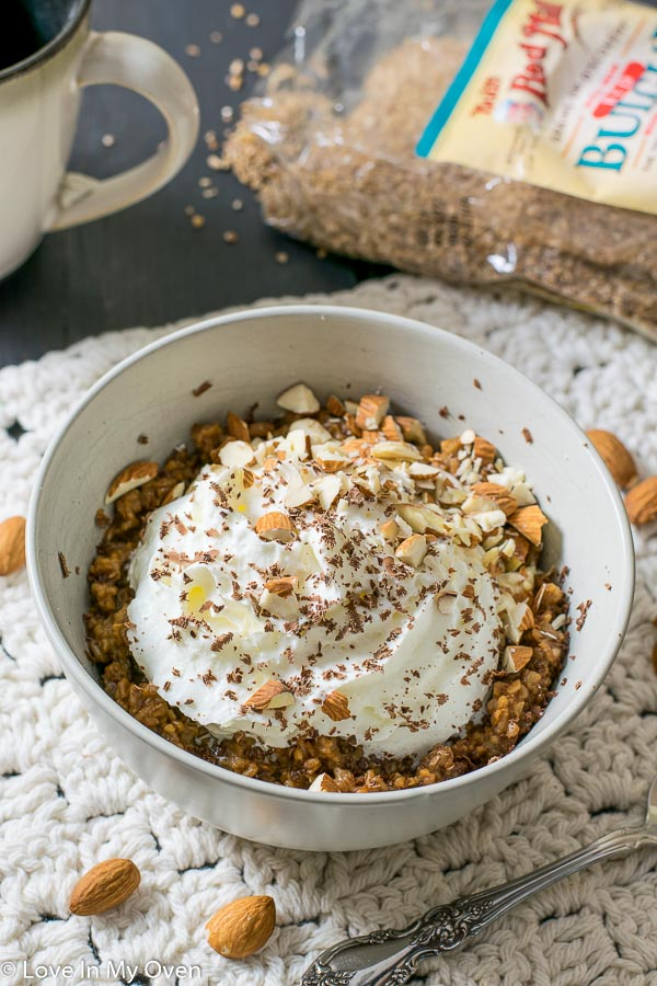 Almond Java Breakfast Bulgur
