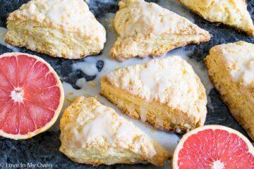 Grapefruit Scones