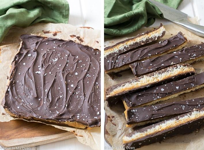 Chocolate Caramel Bliss Bars