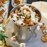 parmesan rosemary popcorn