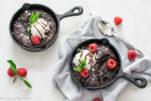 mini molten lava cakes