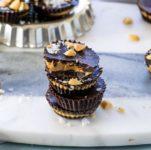 dark chocolate mini peanut butter cups
