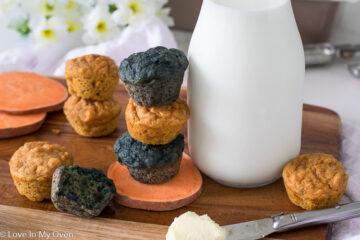 mini sweet potato muffins