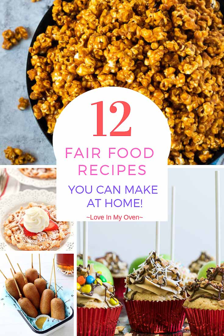 12 Fair Food Recipes