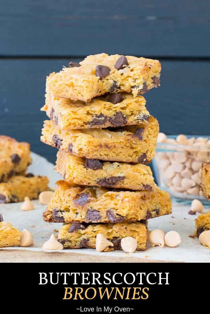 Butterscotch Brownies
