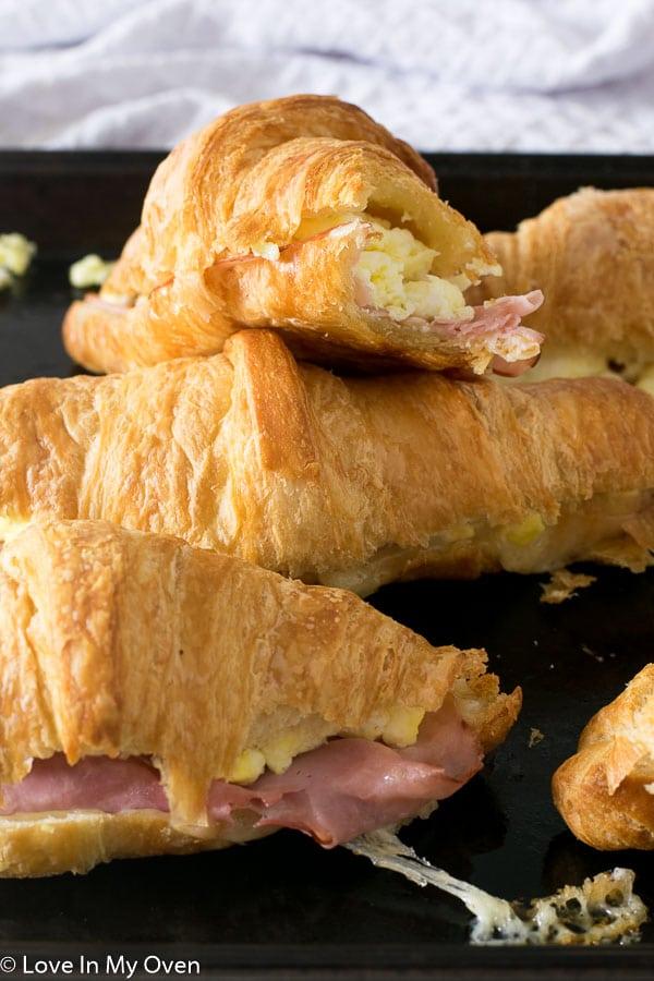 breakfast croissants