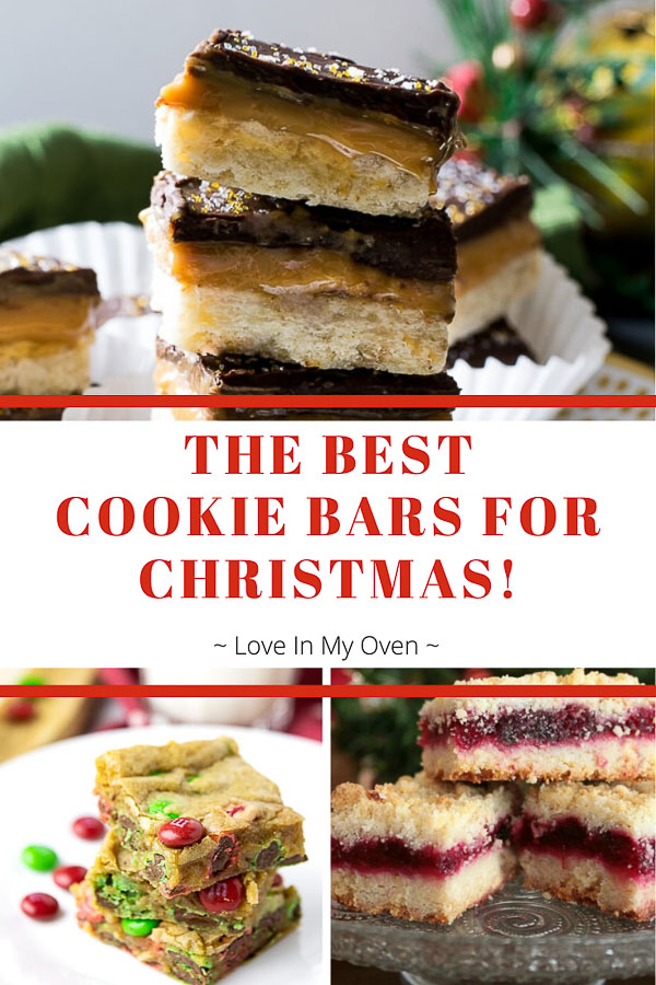 Best Cookie Bars for Christmas