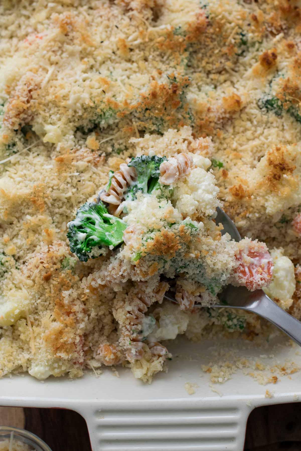 creamy vegetable casserole