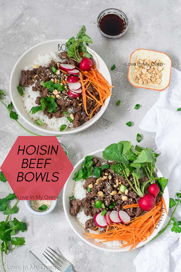 Hoisin Beef Bowls