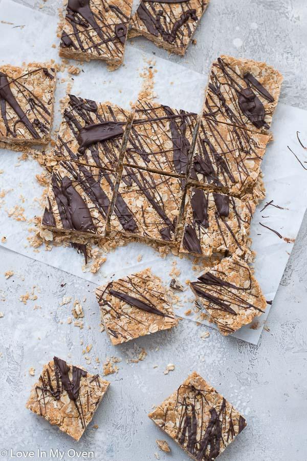 oatmeal peanut butter granola bars