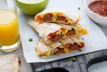 grilled breakfast quesadillas