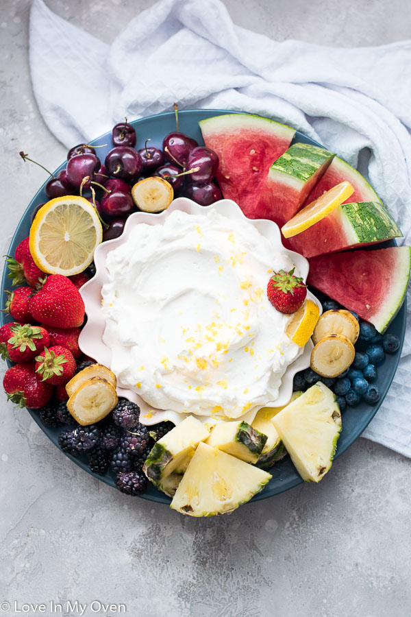 easy yogurt fruit dip