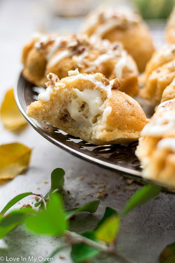mini maple pecan cake
