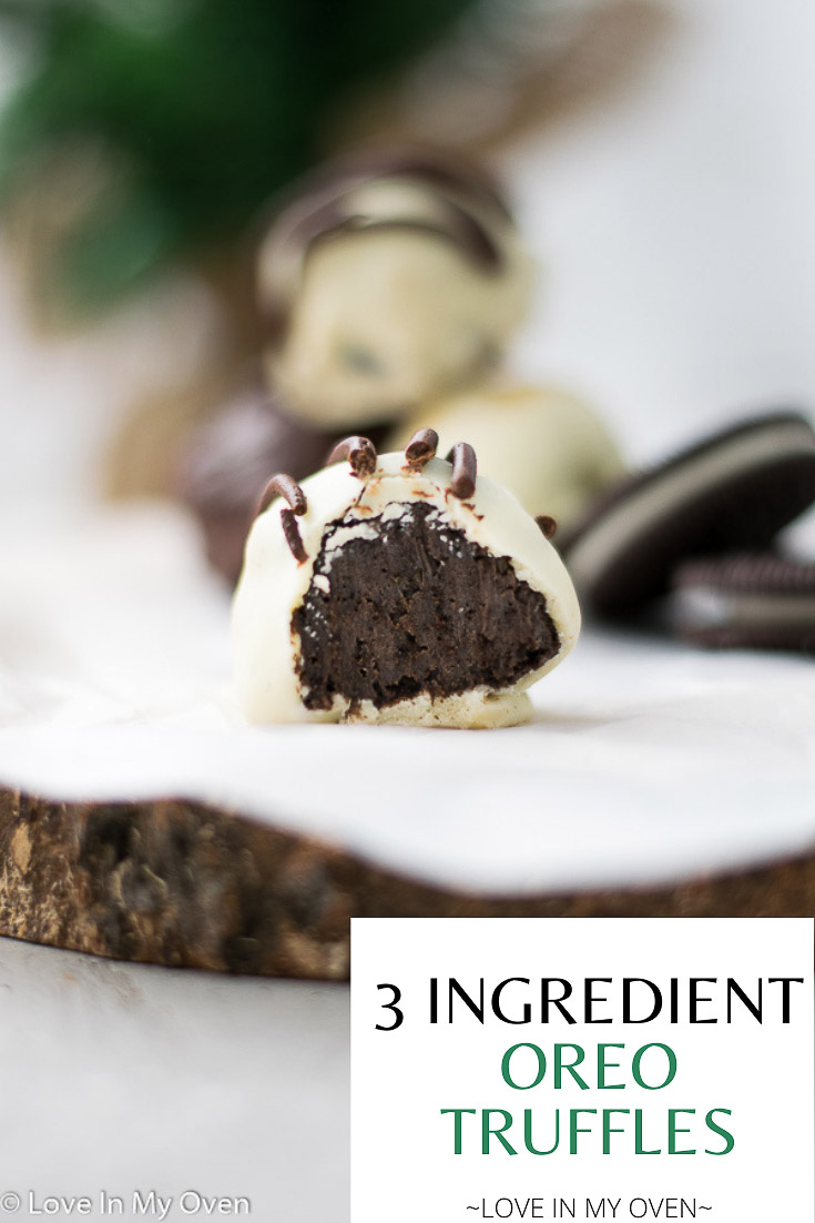 3 Ingredient Oreo Truffles