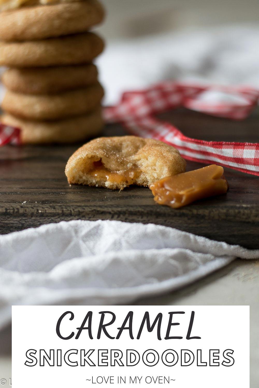 Caramel Snickerdoodles