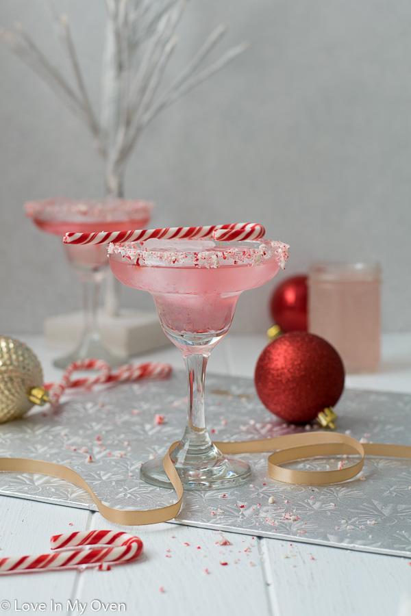 peppermint vodka cocktail