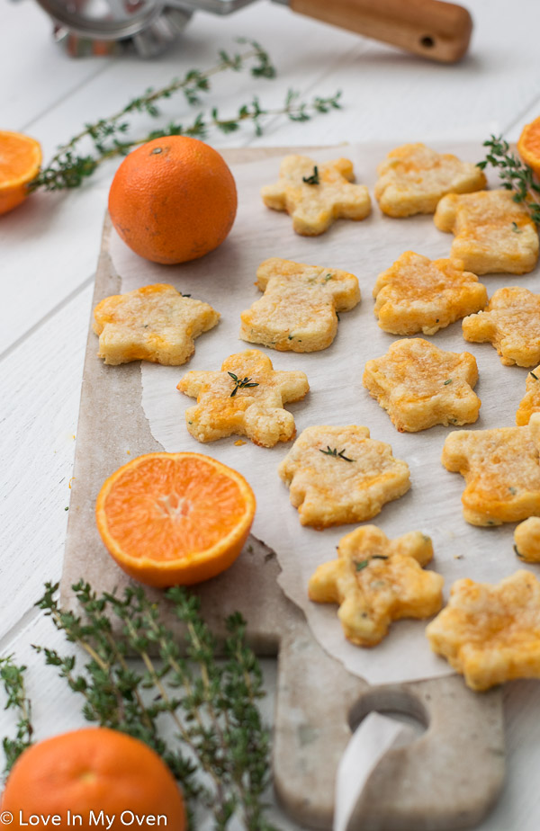 thyme and cheddar cheese cookies