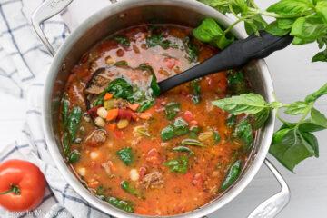 sausage gnocchi soup