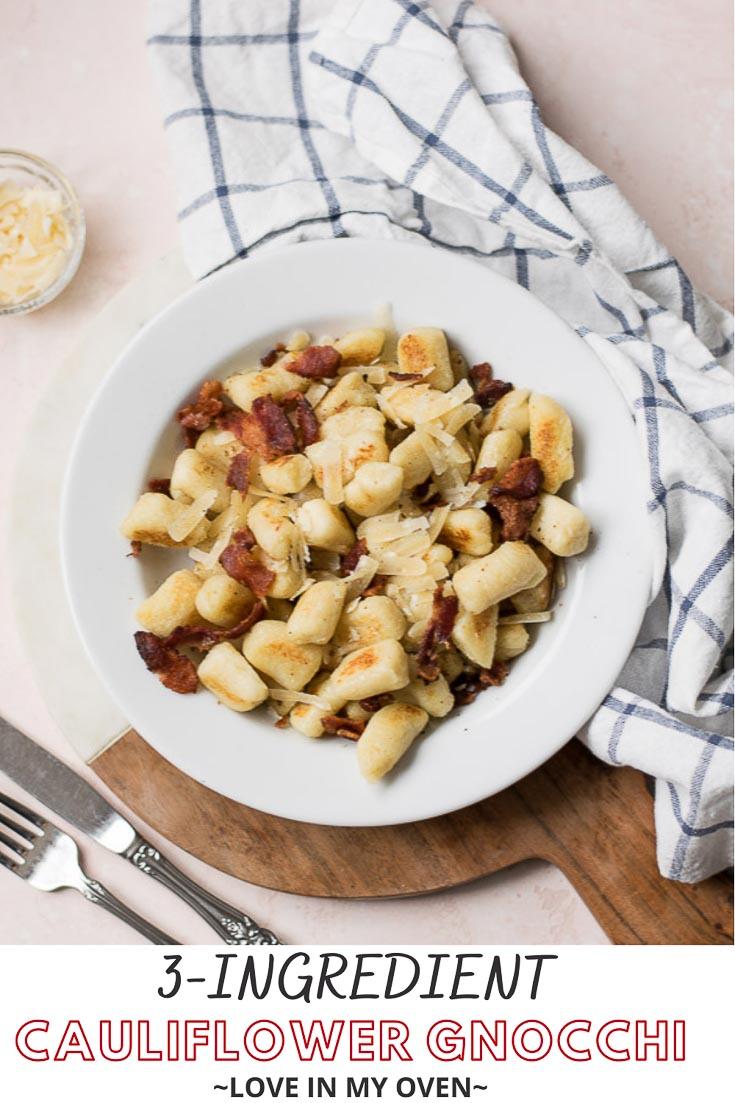 Homemade Cauliflower Gnocchi