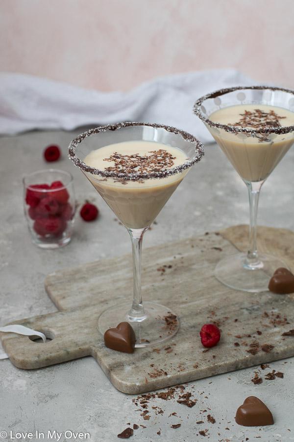 chocolate vodka martini