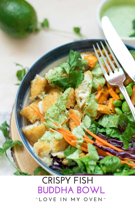 Crispy Fish Buddha Bowl