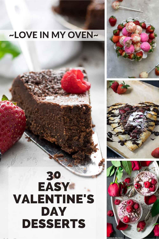 30 Easy Valentine\'s Day Desserts