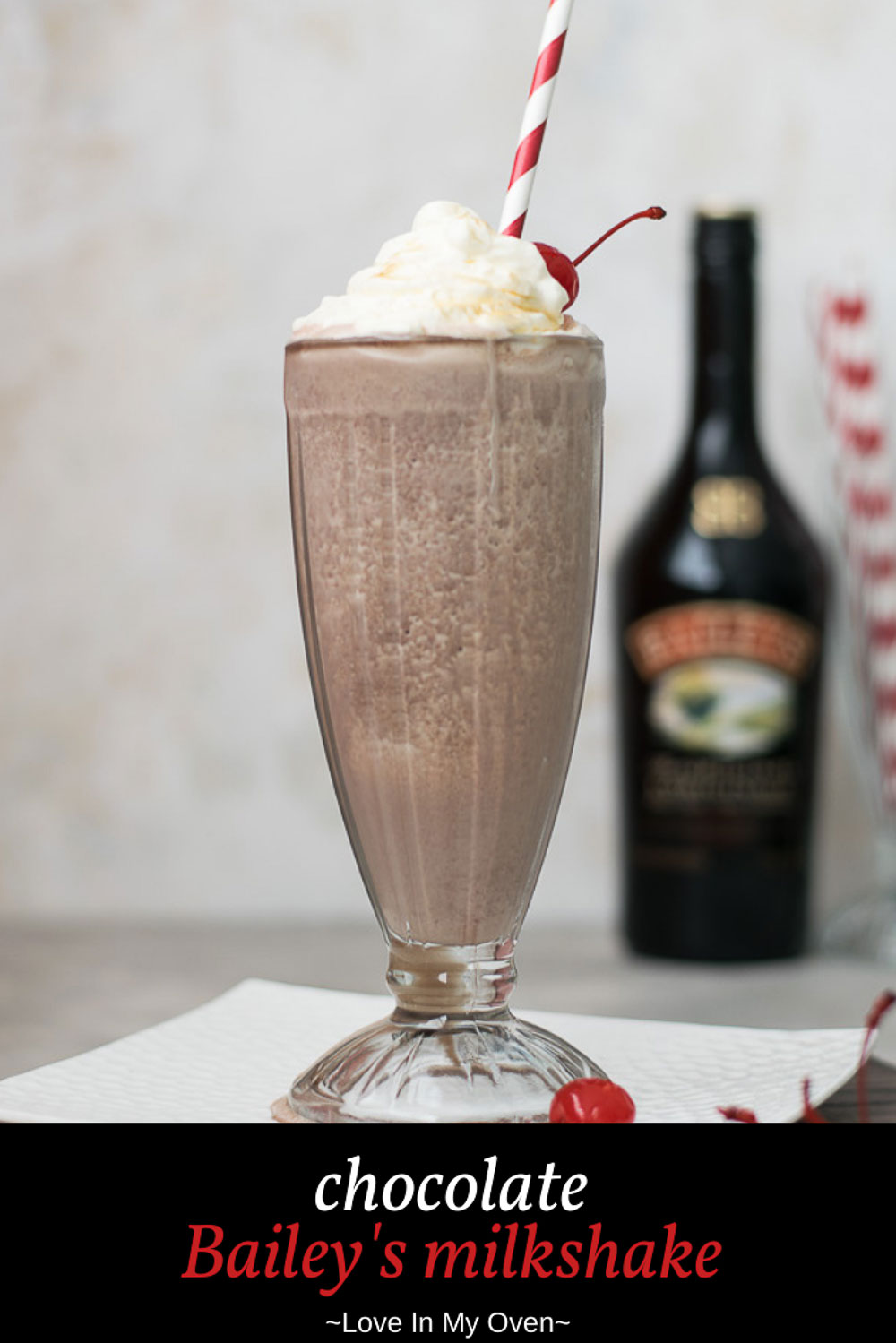 Chocolate Bailey\'s Milkshake