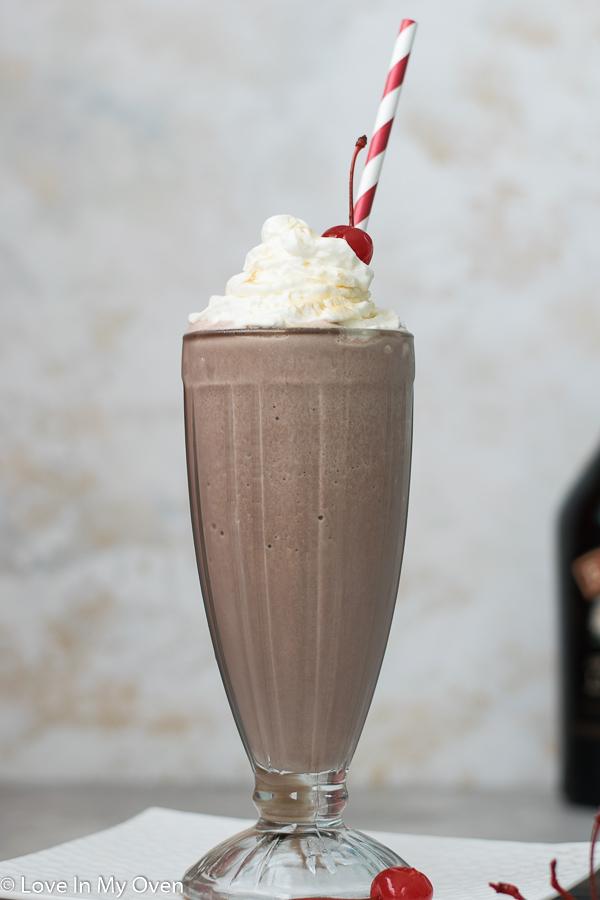 chocolate bailey's milkshake