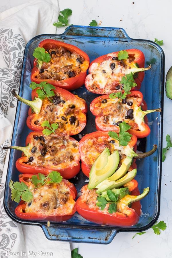 chorizo stuffed peppers