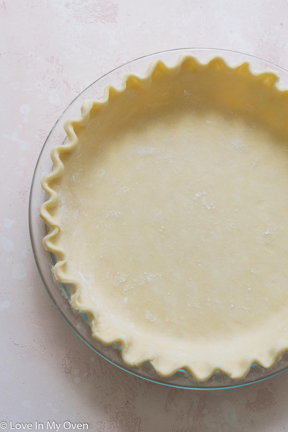 3 ingredient pie crust