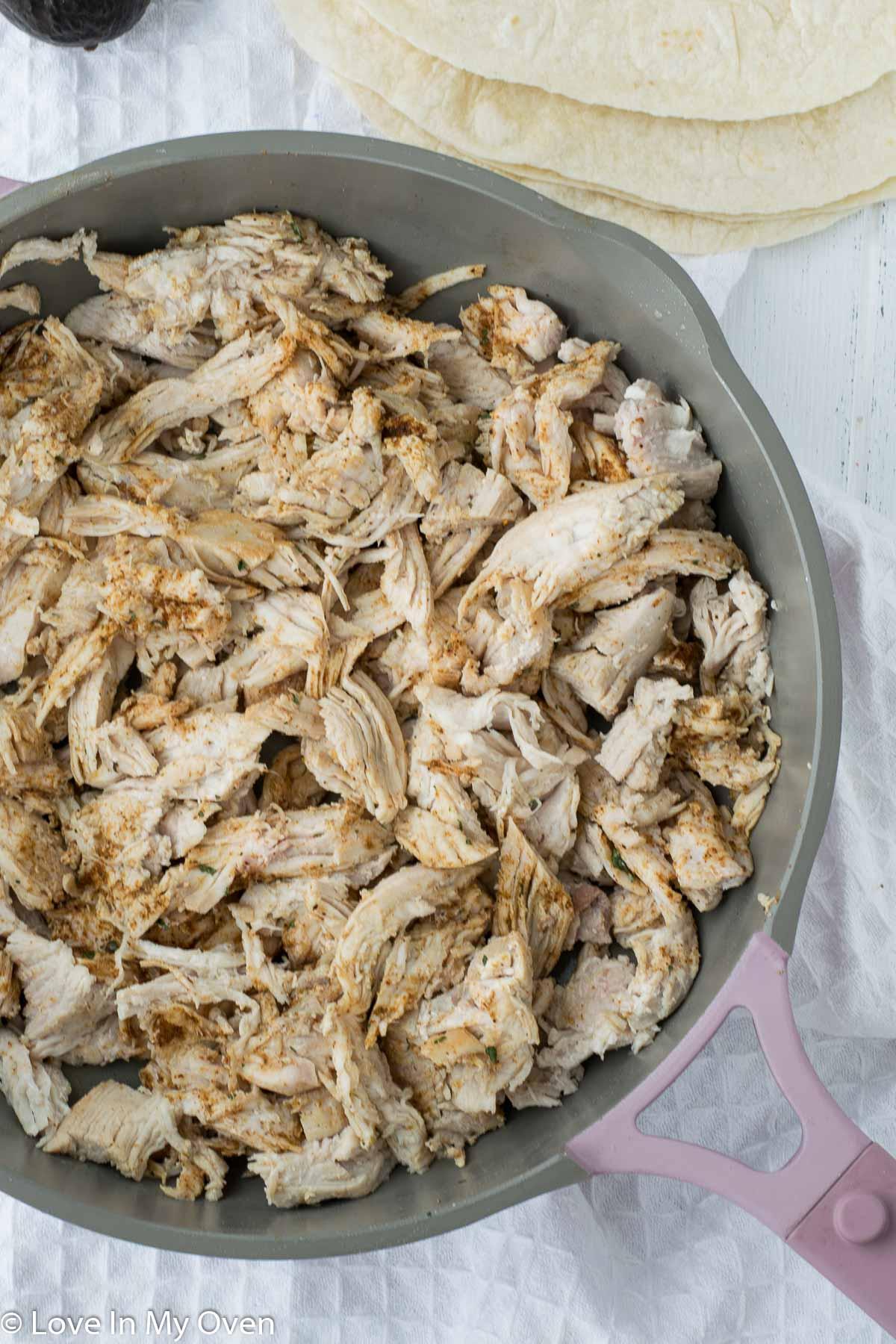 air fryer turkey quesadillas