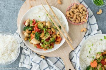 easy cashew chicken